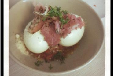 Die Besten Eier im Glas mit Tomatensoße